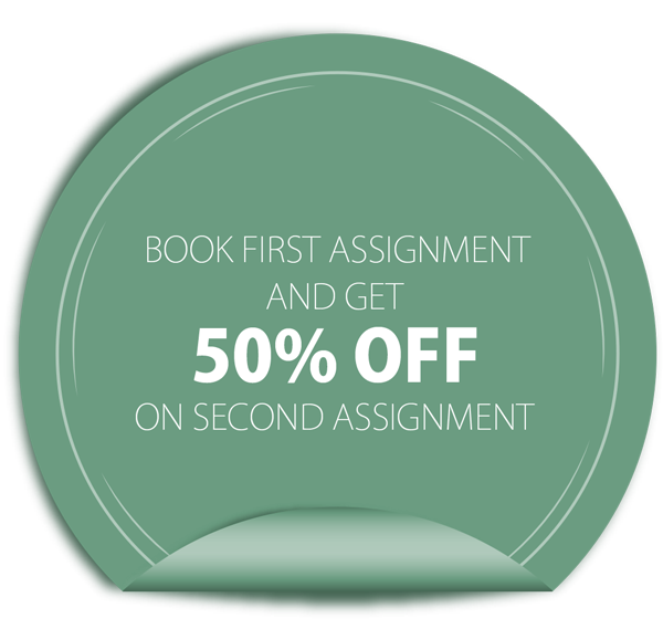 Get 50% Discount on your first booking!